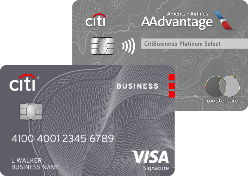 CitiBusiness® / AAdvantage® Platinum Select® World Mastercard® / Costco Anywhere Visa® Business Card by Citi
